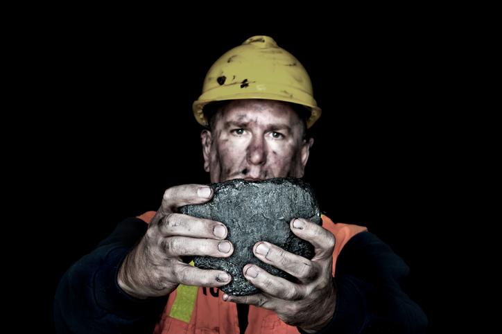 Casual Coal Miner